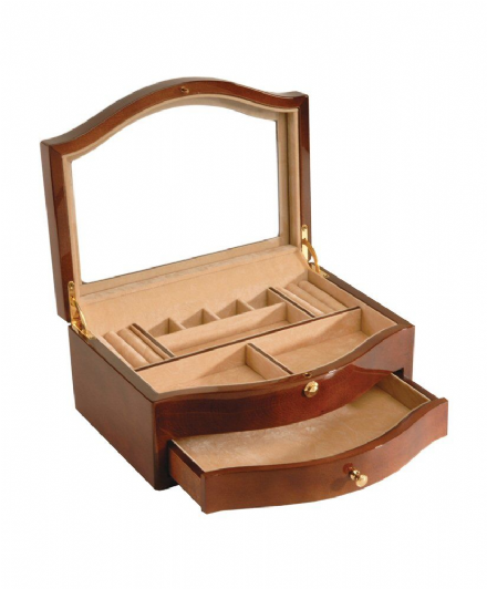 Ladies Shaped Jewellery Box with drawer